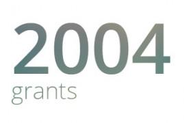 Grants awarded for 2004