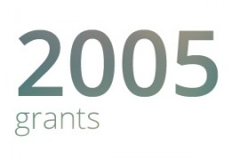 Grants awarded for 2005
