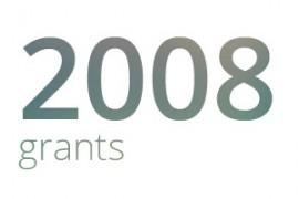 Grants awarded for 2008