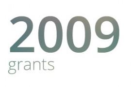 Grants awarded for 2009