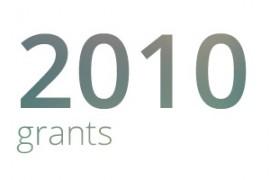 Grants awarded for 2010