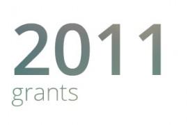 Grants awarded for 2011