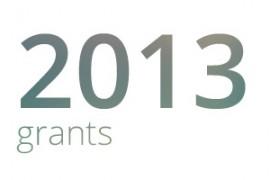 Grants awarded for 2013