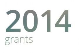 Grants awarded for 2014